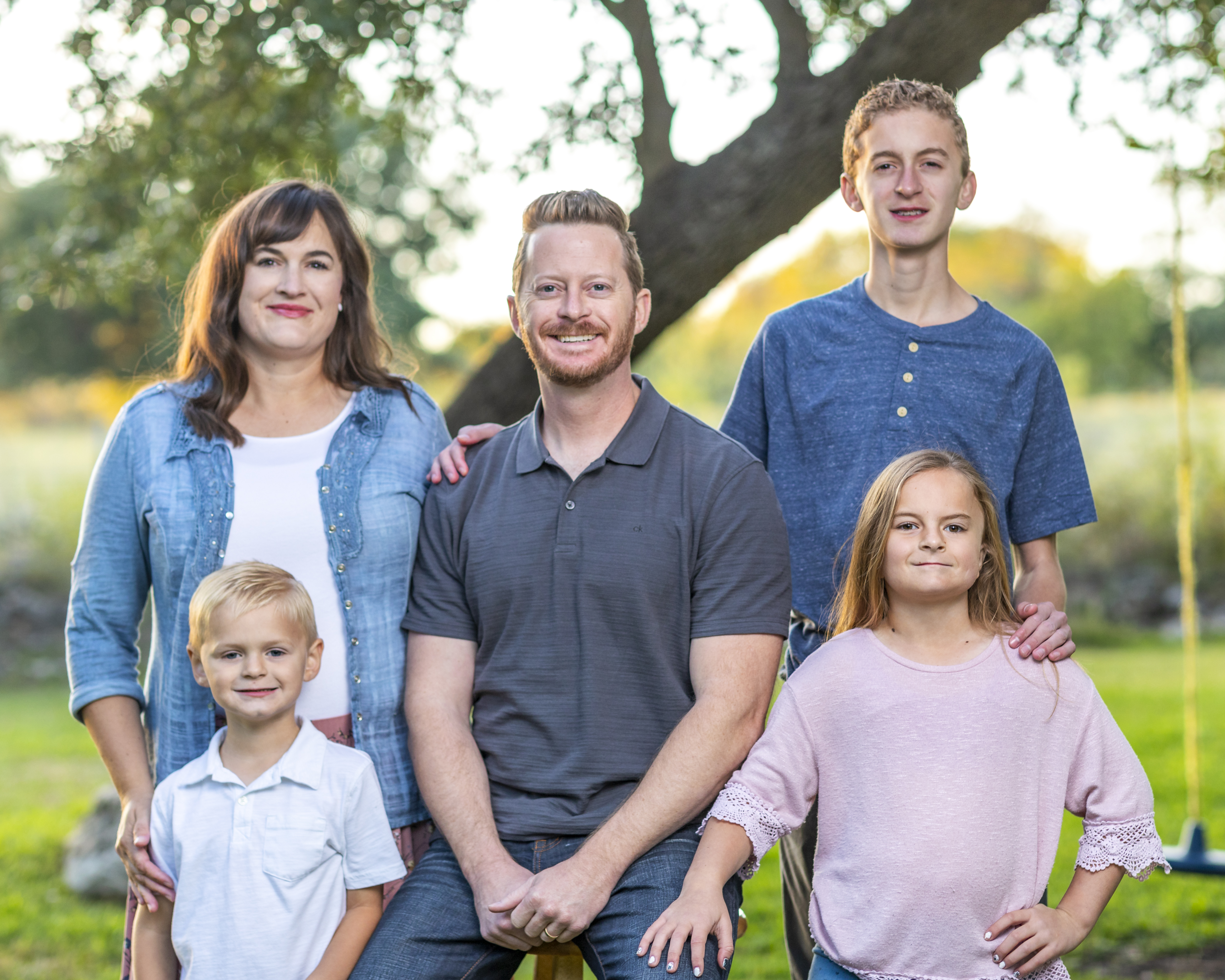 Ryan Stephens DMD, PLLC and his family